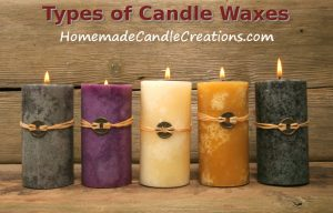 Types of Candle Waxes